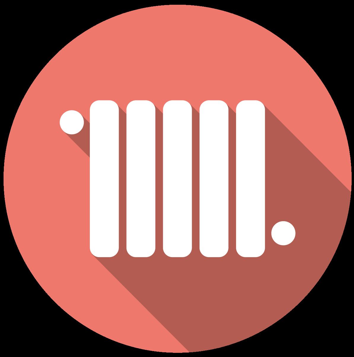Icono de calefacción