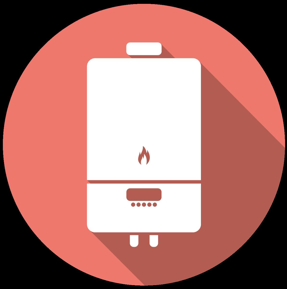 Icono de cambio de caldera