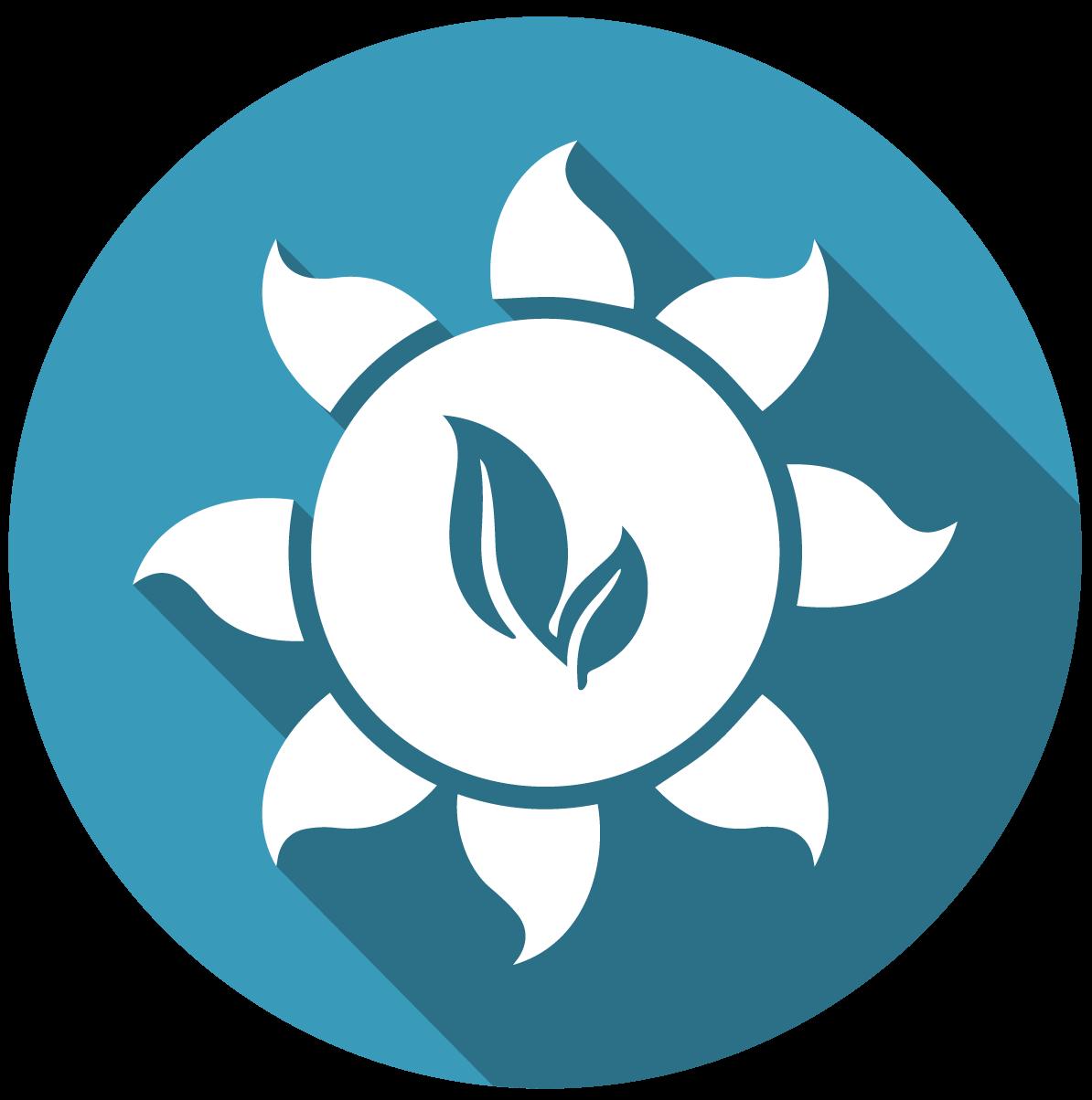 Icono de energías renovables