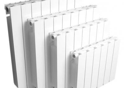 Radiadores de aluminio cerrados marca Concept
